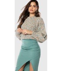sweater ivyrevel multicolor - calce holgado