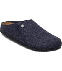 zermatt soft footbed slippers tofflor blå birkenstock