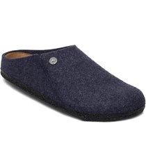 zermatt soft footbed slippers tofflor blå birkenstock