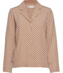 camilleiw shirt blouse lange mouwen beige inwear