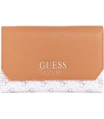 billetera esme slg multi clutch blanco guess