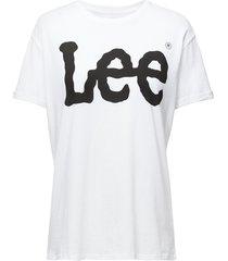 logo tee t-shirts & tops short-sleeved vit lee jeans