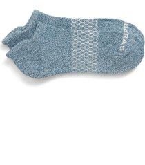 men's bombas marled ankle socks, size large - green