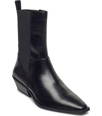 ally shoes boots ankle boots ankle boot - heel svart vagabond