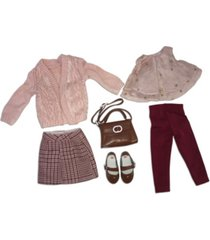 ruby red fashion friends dress for success outfit set
