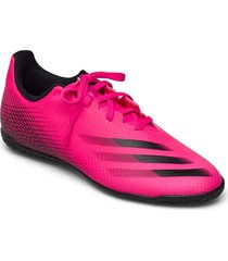x ghosted.4 indoor boots shoes sport shoes football boots lila adidas performance