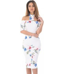 ax paris midi bodycon dress