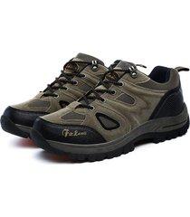 scarpe da escursione sportiva resistente agli sport esterni della maglia traspirante degli uomini di grandi dimensioni