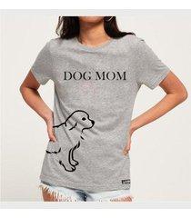camiseta dog mom namorados - buddies feminina - feminino