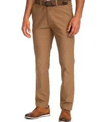 pantalón casual camel guy laroche