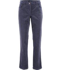 pantaloni in velluto (blu) - bpc bonprix collection