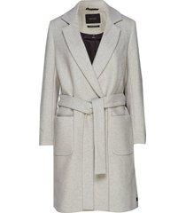 wool wrap coat with belt yllerock rock grå scotch & soda