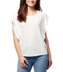 william rast freya flutter-sleeve t-shirt