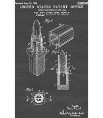 chanel lipstick case patent - chanel patent, vanity decor,  girls gift, lipstick