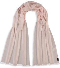 fraas women's wool wrap scarf - pink