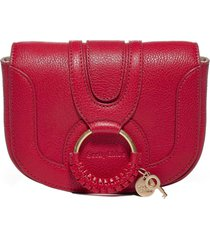 see by chloé hana mini leather shoulder bag