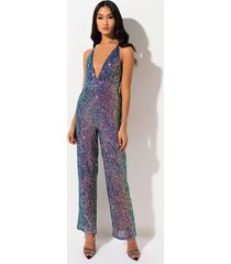 akira wildfire sequin jumpsuit