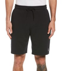 original penguin men's slim-fit solid french terry shorts