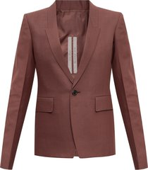 blazer with peak lapels