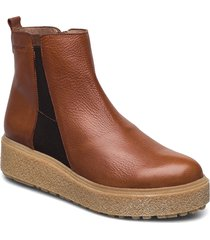 a-9503 shoes boots ankle boots ankle boot - flat brun wonders