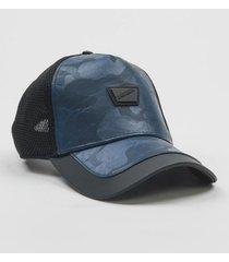 gorra azul antony morato referencia mmha00265-fa250002-7073