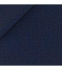 pantaloni da uomo su misura, vitale barberis canonico, blu flanella microdesign, autunno inverno