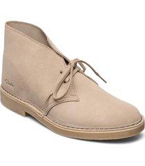 desert boot 2 desert boots snörskor beige clarks