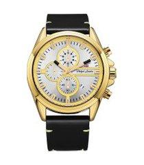 relógio cronógrafo philiph london masculino - pl80040642m dourado