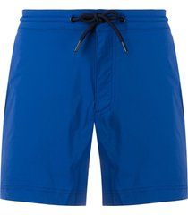 orlebar brown drawstring swim shorts - blue