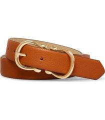 steve madden women's double buckle belt
