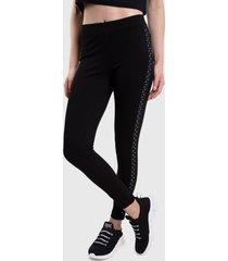 legging everlast glow negro - calce ajustado
