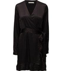 stella dress ze3 16 jurk knielengte zwart gestuz