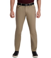 haggar men's the active series city flex traveler slim-fit dress pants