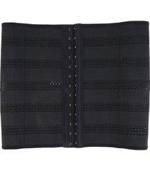 las mujeres body shaper cintura latex corset underbust shapewear cincher formador