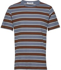 biferno t-shirt st 7913 t-shirts short-sleeved multi/mönstrad samsøe samsøe