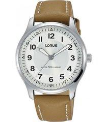reloj análogo café lorus by seiko