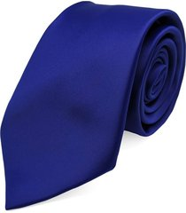 gravata concetto lisa seda azul royal
