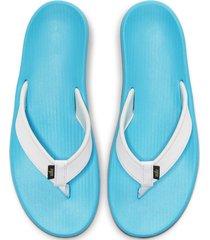 8-sandalias de dama nike wmns bella kai thong-azul
