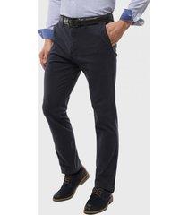 pantalón chino spandex azul marino arrow