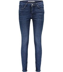 01631-49 denim jeans with zippers
