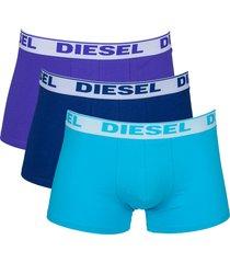 diesel boxershorts shawn 3-pak paars