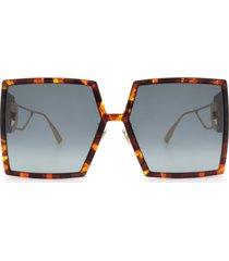 dior dior 30montaigne havana sunglasses