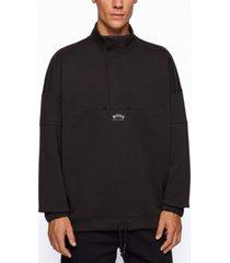 boss men's salboa relaxed-fit sweatshirt
