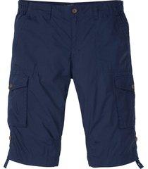 bermuda cargo lunghi con taglio comfort regular fit (blu) - bpc bonprix collection