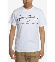 men's script logo statements graphic t-shirt