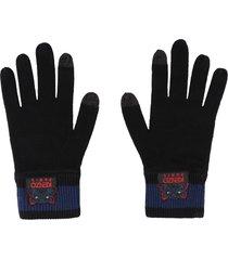kenzo tiger wool gloves