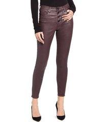 women's blanknyc the great jones coated skinny jeans