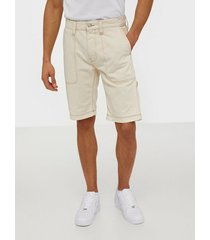 tommy jeans rey workwear short wrkec shorts ecru