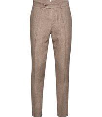 azour rodney linen trouser kostymbyxor formella byxor beige morris