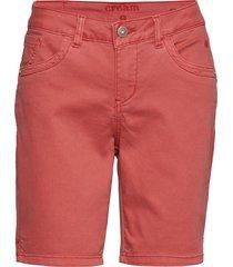 vita capri twill short - regular fi bermudashorts shorts rosa cream